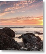 Lincoln City Beach Sunset - Oregon Coast Metal Print