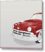 Lincoln Cosmopolitan Sedan Metal Print