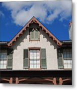 Lincoln Cottage Metal Print