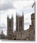 Lincoln Metal Print by Joanna Madloch