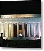 Lincoln Memorial - From Reflecting Pool Metal Print