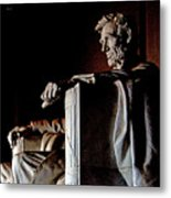 Lincoln Memorial In Washington D.c. Metal Print