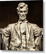 Lincoln Monument Metal Print