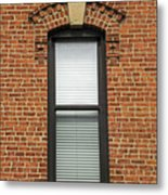 Lincoln Park Window Metal Print