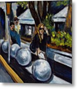 Lincoln Road Metal Print