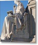 lincoln statue Gettysburg PA Metal Print