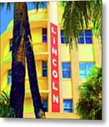 Lincoln Theatre - Sobe Metal Print