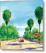 Linden To The Beach  Metal Print