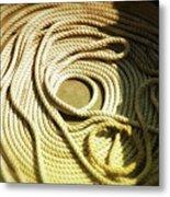 Line Coil Metal Print