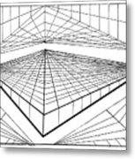 Line Design  Metal Print