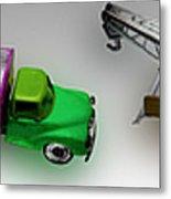 Line Truckin Metal Print