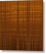 Linear Ripples 148 Metal Print