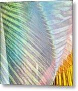 Linen Astract Metal Print