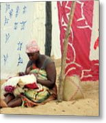 Linen For Sale Madagascar Metal Print