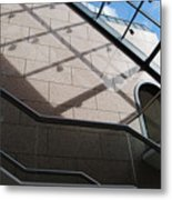 Lines And Reflections Metal Print