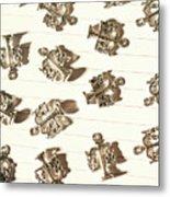Lines Of Legalities Metal Print