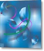 Linesoflife11 Metal Print