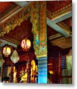 Lingyen Mountain Temple 1 Metal Print