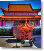 Lingyen Mountain Temple 11 Metal Print