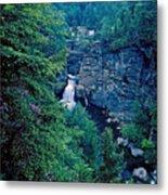 Linville Falls - North Carolina Metal Print