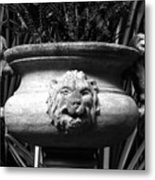 Lion And Serpents Metal Print