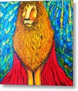 Lion-king Metal Print