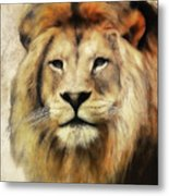 Lion Majesty Metal Print