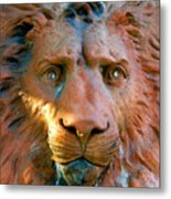Lion Of Saint Augustine Metal Print