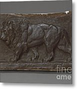 Lion Of The Colonne De Juillet Metal Print