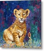 Lion Prince Metal Print