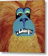 Lion-tailed Macaque Metal Print