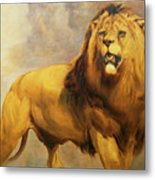 Lion  Metal Print by William Huggins