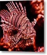 Lionfish Of The Sea Metal Print