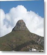 Lion's Head Cape Town Metal Print