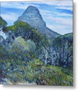 Lions Head Cape Town South Africa 2016 Metal Print