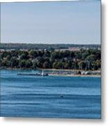 Lions Head Harbor, Ontario Metal Print