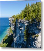 Lions Head Limestone Cliffs Metal Print