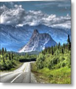 Lion's Head Mountain Metal Print