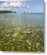 Lion's Head - Summer Afternoon On The Dock Metal Print