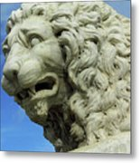 Lions Roar Metal Print
