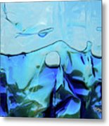 Liquid Abstract  #0059 Metal Print