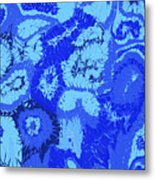 Liquid Blue Dream - V1cbs30 Metal Print