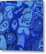 Liquid Blue Dream - V1lle30 Metal Print