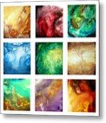Liquid Color I By Madart Metal Print