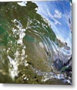 Liquid Glass Metal Print