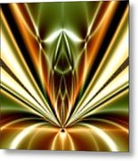 Liquid Reaction Metal Print