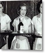 Liquor Is Served - Prohibition Ends 1933 Metal Print
