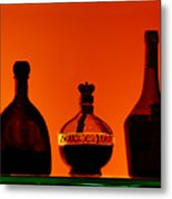 Liquor Still Life Metal Print