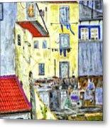 Lisbon Home Painting Metal Print