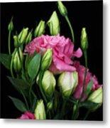 Lisianthus Flowers Metal Print